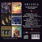 Arcadia - So Red The Singles (back cover)