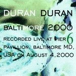 Duran Duran - Baltimore 2000 (back cover)