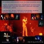 Duran Duran - Birmingham N.E.C. 2000 (back cover)
