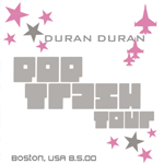Duran Duran - Fleet Pavilion Boston 2000 (cover)