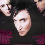 Duran Duran - Fleet Pavilion Boston 2000 (back cover)
