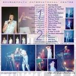 Duran Duran - Bournemouth International Centre (back cover)