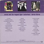 Duran Duran - Seven And The Ragged Tiger - Notorious - Duran Duran (back cover)
