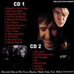 Duran Duran - Chula Vista 2000 (back cover)