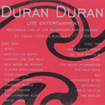 Duran Duran - Lite Entertainment (back cover)