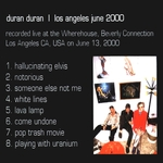 Duran Duran - Los Angeles 2000 (back cover)