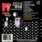 Duran Duran - RDS Live 2000 (back cover)