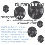Duran Duran - Nottingham 2000 (back cover)