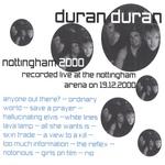 Duran Duran - Nottingham 2000 (back cover)