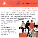 Duran Duran - PNC Arts Center 2000 (back cover)
