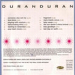 Duran Duran - Pop Trash (back cover)