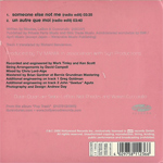 Duran Duran - Someone Else Not Me (back cover)