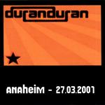 Duran Duran - Anaheim 2001 (cover)