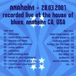 Duran Duran - Anaheim 2001 (2nd) (back cover)