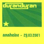Duran Duran - Anaheim 2001 (3rd) (cover)