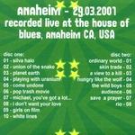 Duran Duran - Anaheim 2001 (3rd) (back cover)