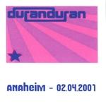 Duran Duran - Anaheim 2001 (4th) (cover)