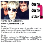 Duran Duran - Atlanta 1 (2001) (back cover)