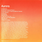 Aurora - Aurora (back cover)