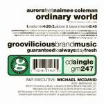 Aurora - Ordinary World (back cover)