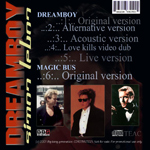 Simon LeBon - Dreamboy (back cover)