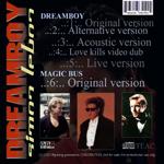 Simon LeBon - Dreamboy (back cover)