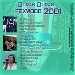 Duran Duran - Foxwood 2001 (back cover)