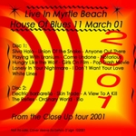 Duran Duran - Myrtle Beach 2001 (back cover)