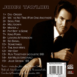 John Taylor - Meltdown (back cover)