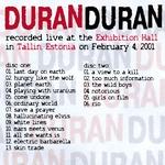 Duran Duran - Tallin 2001 (back cover)