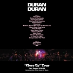 Duran Duran - Close Up Las Vegas (back cover)