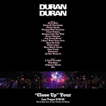 Duran Duran - Close Up Las Vegas 2 (back cover)