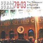 Duran Duran - The Tabernacle Atlanta 2003 (cover)