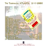 Duran Duran - The Tabernacle Atlanta 2003 (back cover)