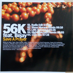 56K feat. Bejay - Save A Prayer (back cover)