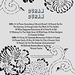Duran Duran - Reunion Tour 2003 (Costa Mesa) (back cover)