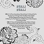 Duran Duran - Reunion Tour 2003 (Costa Mesa) (back cover)