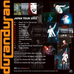 Duran Duran - Japan Tour 2003 (back cover)