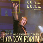 Duran Duran - London Forum 2003 (cover)