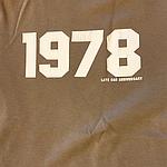 Duran Duran - 1978 T-shirt (cover)