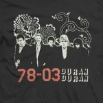 Duran Duran - 78-03 Australian Tour T-shirt (cover)