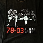 Duran Duran - 78-03 T-shirt (cover)
