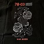 Duran Duran - 78-03 T-shirt (back cover)