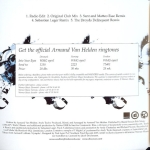 Armand Van Helden - Into Your Eyes (back cover)