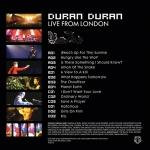 Duran Duran - Live From London 2LP (back cover)