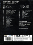 Duran Duran - Live From London (back cover)