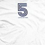 Duran Duran - White 5 Circles T-Shirt (back cover)