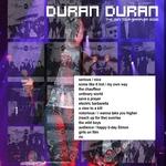 Duran Duran - Chicago 2006 (back cover)