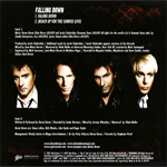 Duran Duran - Falling Down (back cover)