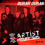 Duran Duran - XM Artist Confidential Session (cover)